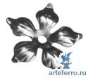 Цветок штампованный 90х10, 2мм