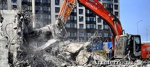 Демонтаж зданий, этапы выполнения
