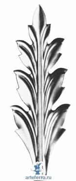Листок штампованный 64х200х0,3мм