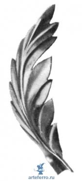 Листок штампованный 35х100х0,3мм