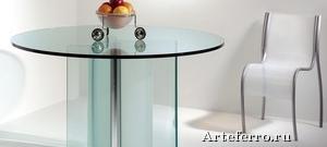 Моллированное стекло в интерьере