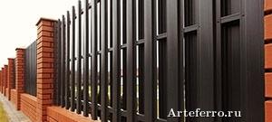 Забор из штакетника для участка - правильное решение