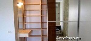 Встроенный шкаф на заказ — современная система хранения