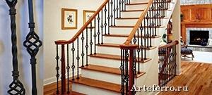 Замена и укрепление балясин у деревянных лестниц