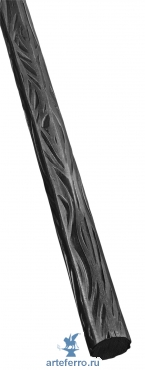 Профиль декоративный Ø20мм с фактурой коры дерева, L 3000мм