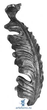 Лист кованый, 50х180х4мм