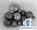 Шар металлический пустотелый Ø50мм с отверстием 9мм, толщина 2мм