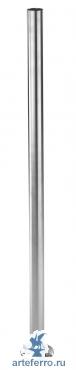 Стойка в комплекте с пластиной Ø 42,4х2,0 мм Н 1000 мм