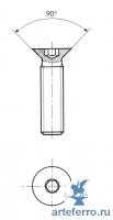 Соединители - Резьба М10x25 мм