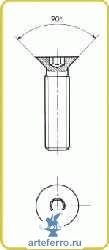 Соединители - Резьба М5x25 мм