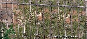 Художественная ковка - кованые ограды